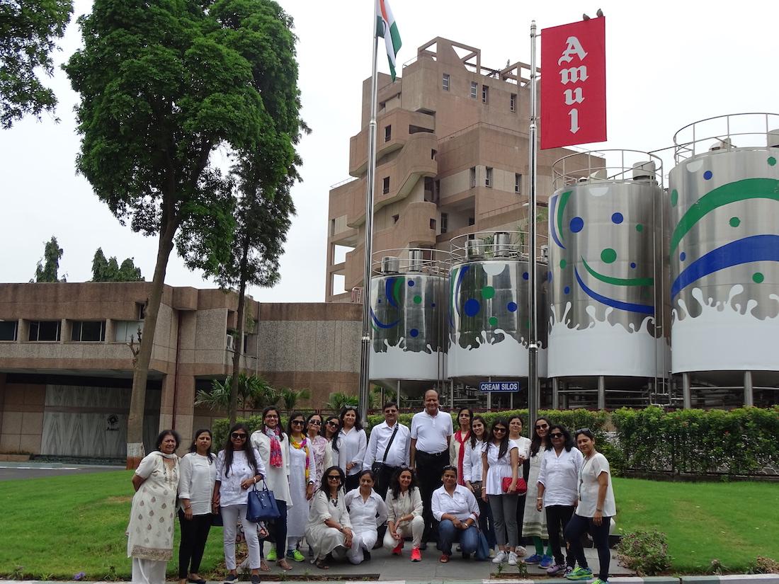 Millennium Mams' :: Amul, Factory Visit
