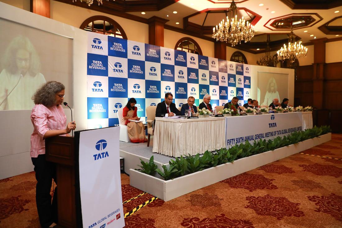 Millennium Mams' :: Tata Global Beverages AGM